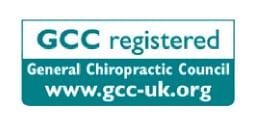 GCC Registered - General Chiropractic Council - www.gcc-uk.org
